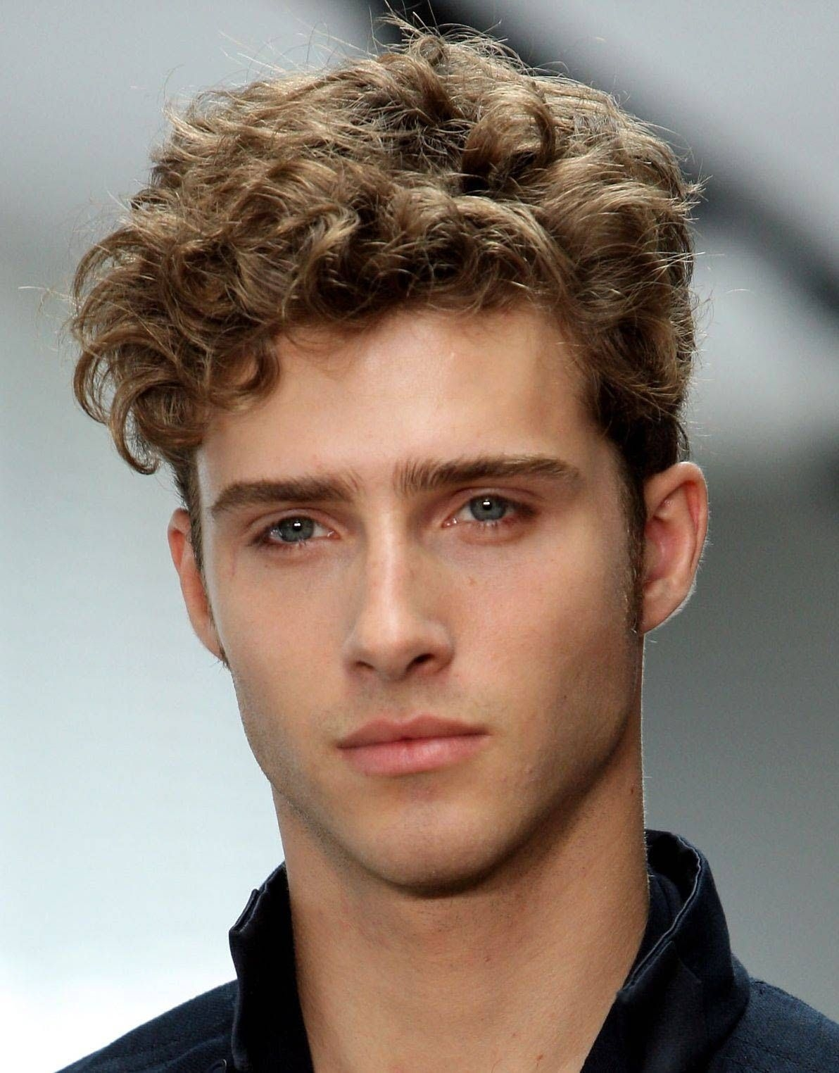 How curly men hair would look like in 2021?