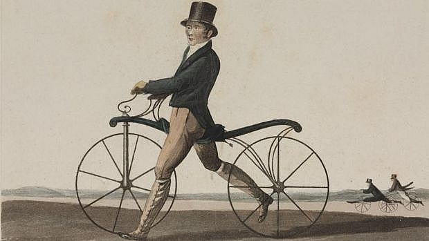What is the First Bicycle in the World History