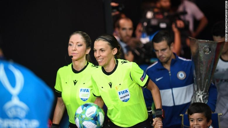 Who is Stephanie Frappart -The First Female Referee at Euro 2020: Biography, Personal Profile and Career