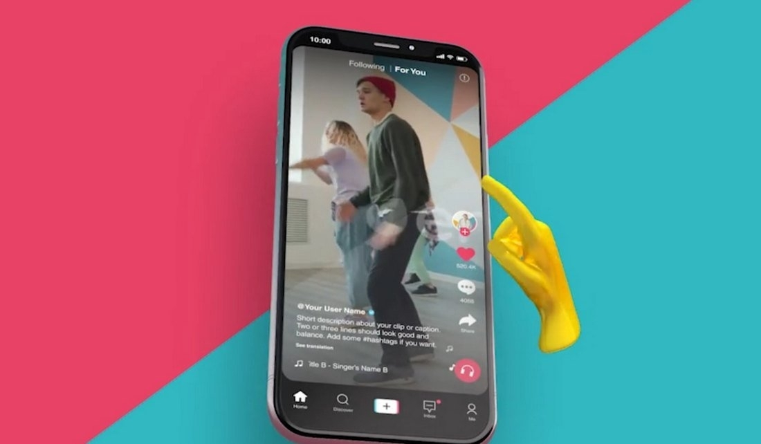 How To Use A TikTok Video Template