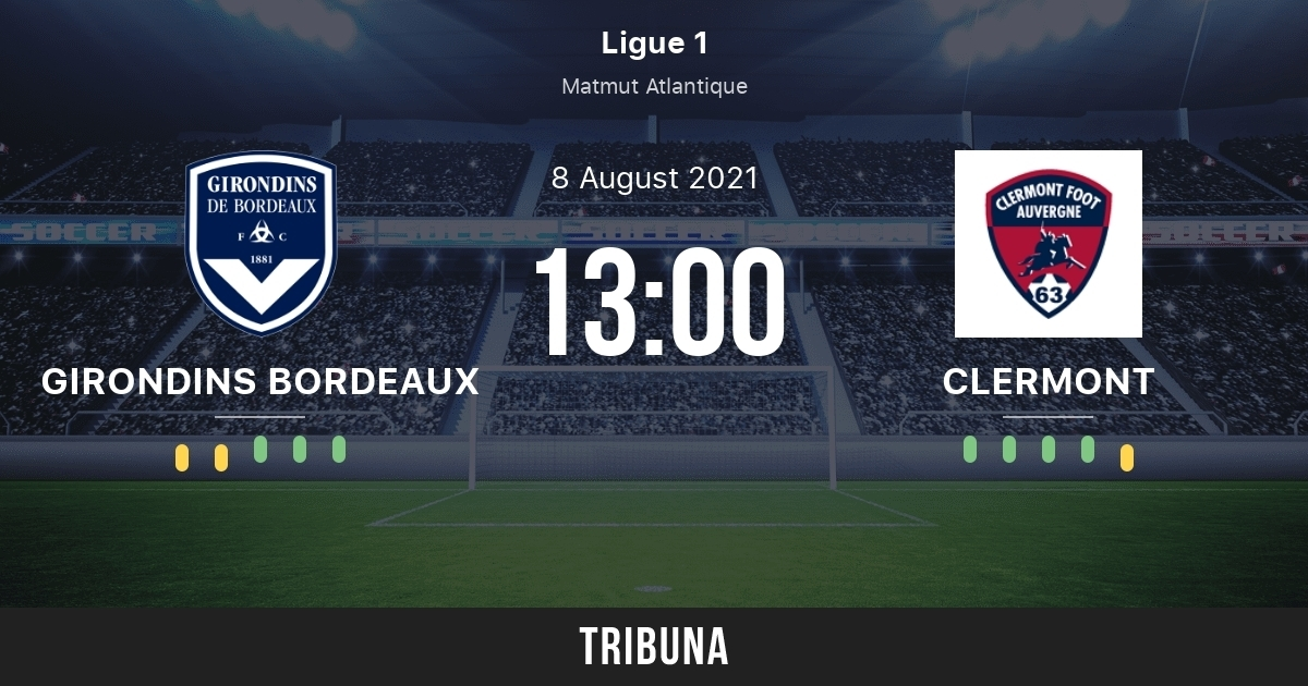 Bordeaux vs Clermont: Date, Watch Live, Team News, Head-to-Head, Betting Tips, Prediction
