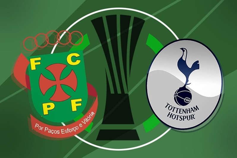 Watch Live: Pacos de Ferreira vs Tottenham - Europa Conference League