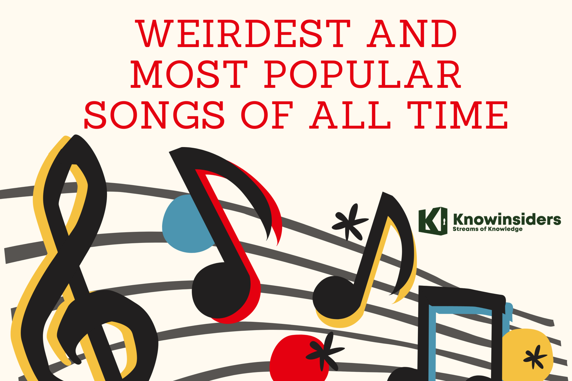 Top 20 Weirdest and Most Popular Songs of All Time
