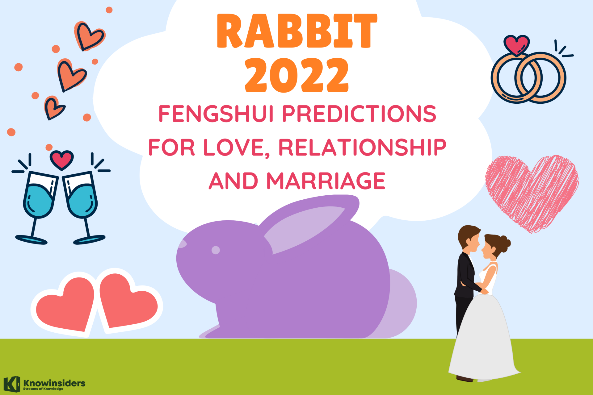 Rabbit Yearly Horoscope 2022 – Feng Shui Prediction for Love, Relationship and Marriage