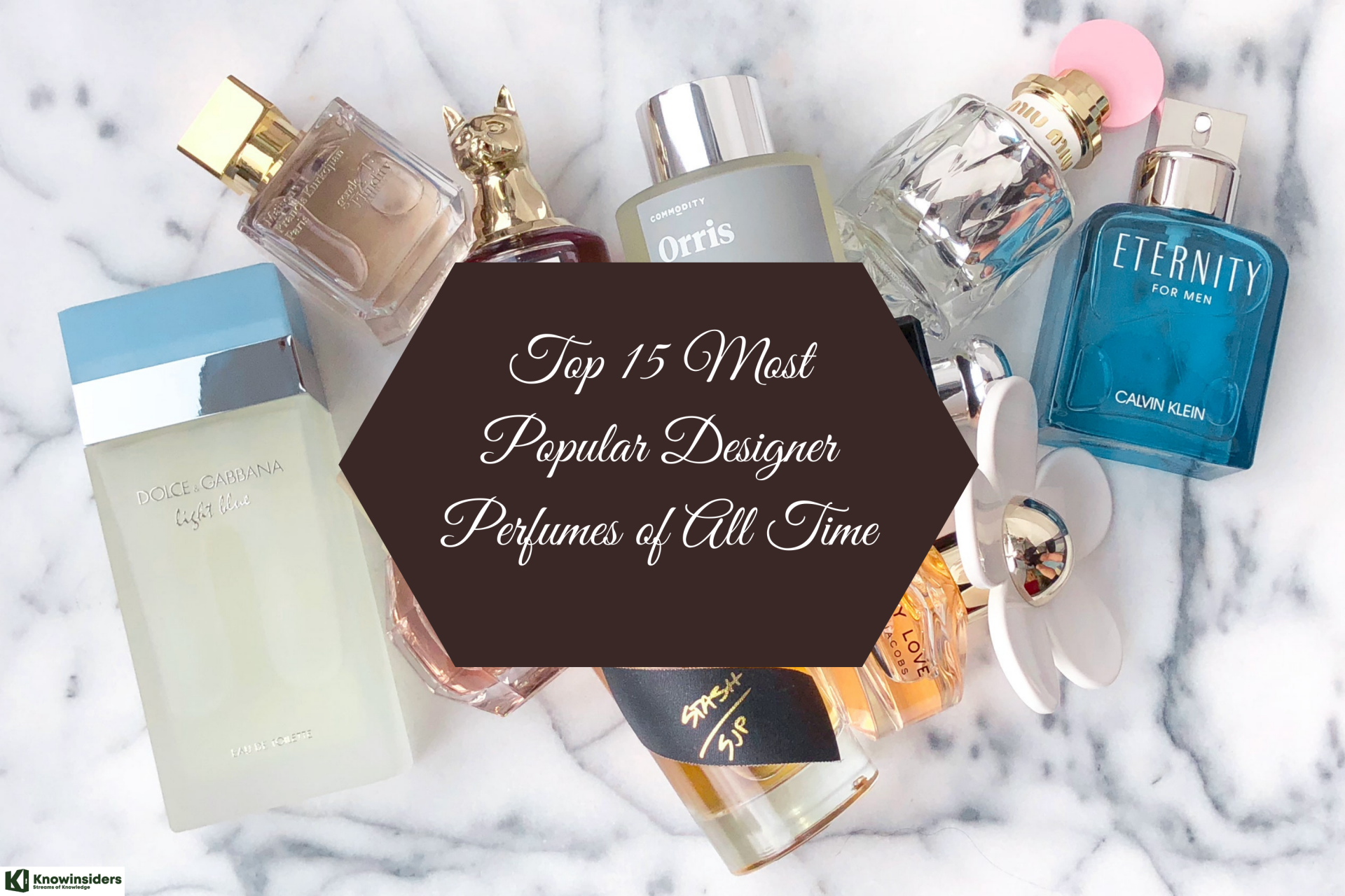 Top 15 Most Popular Designer Fragrances of All Time