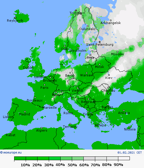UK and Europe Weather forecast Today (Feb 1): Unsettled across south and west Europe, Snowstorm hell to hit UK