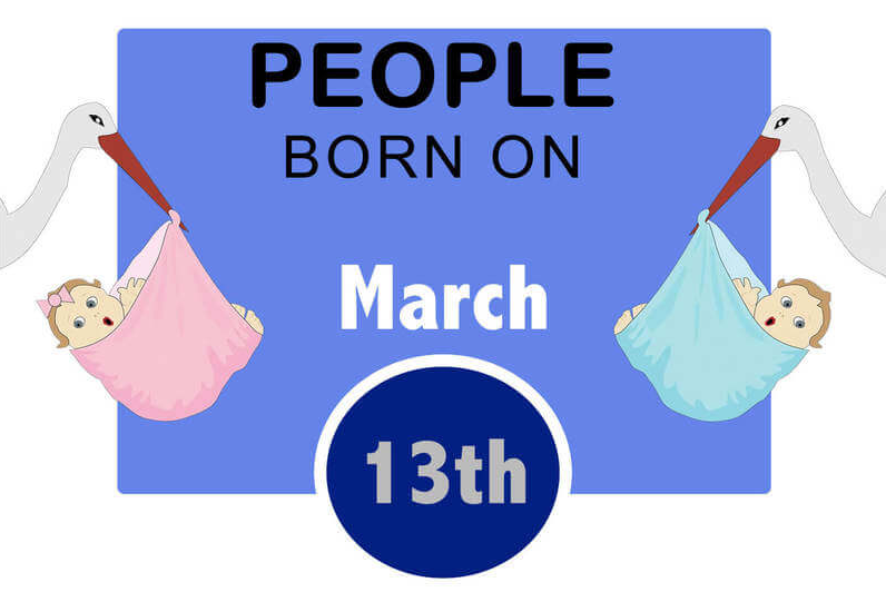Born Today March 13: Birthday Horoscope and Astrological prediction for Personality, Love and Career