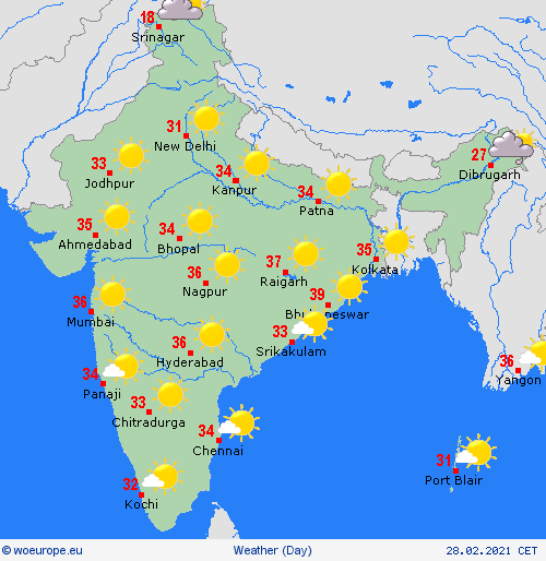India Weather Forecast (Today March 1): Dry weather to prevail across India as summer creeps in