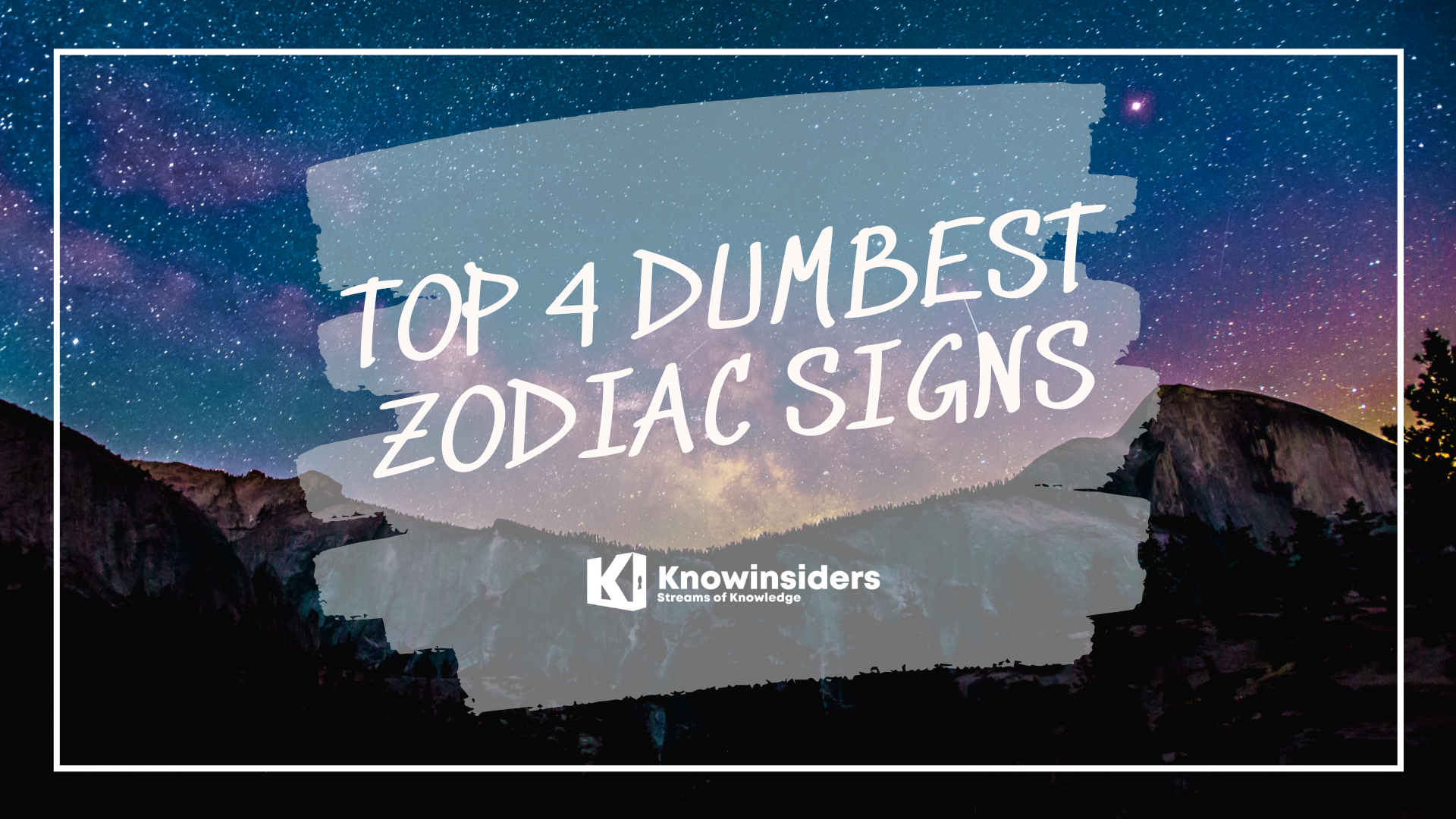 Top 4 Dumbest Zodiac Signs According To Astrology