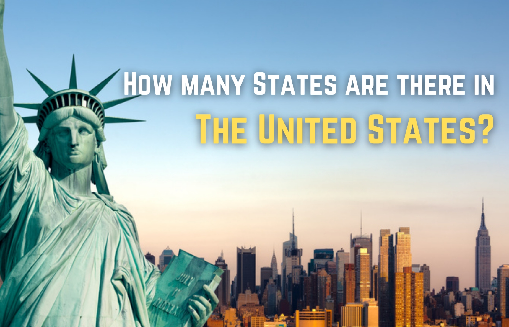 How Many States Are There In The United States - 50 or 52?