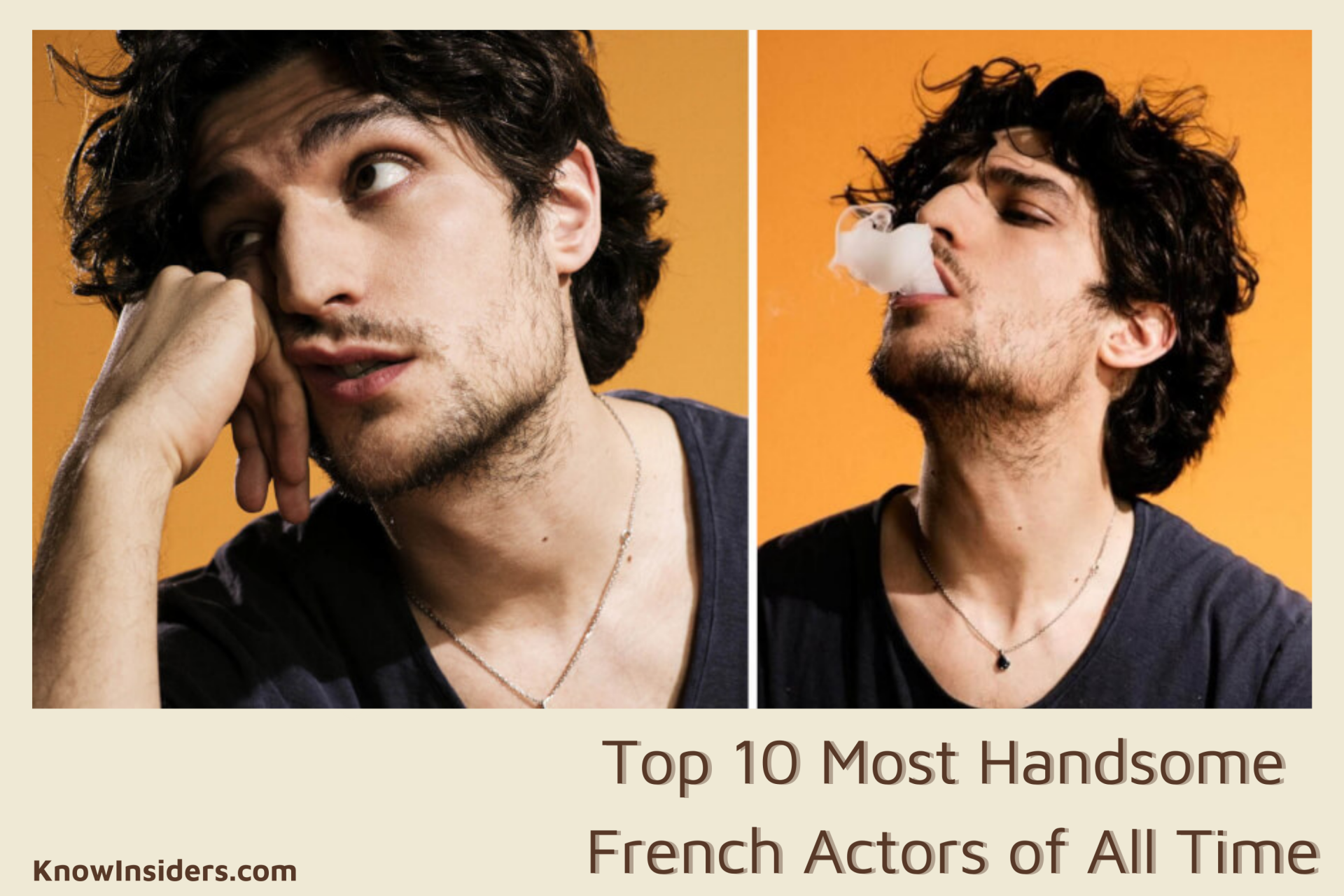 Top 10 Most Handsome French Actors of All Time