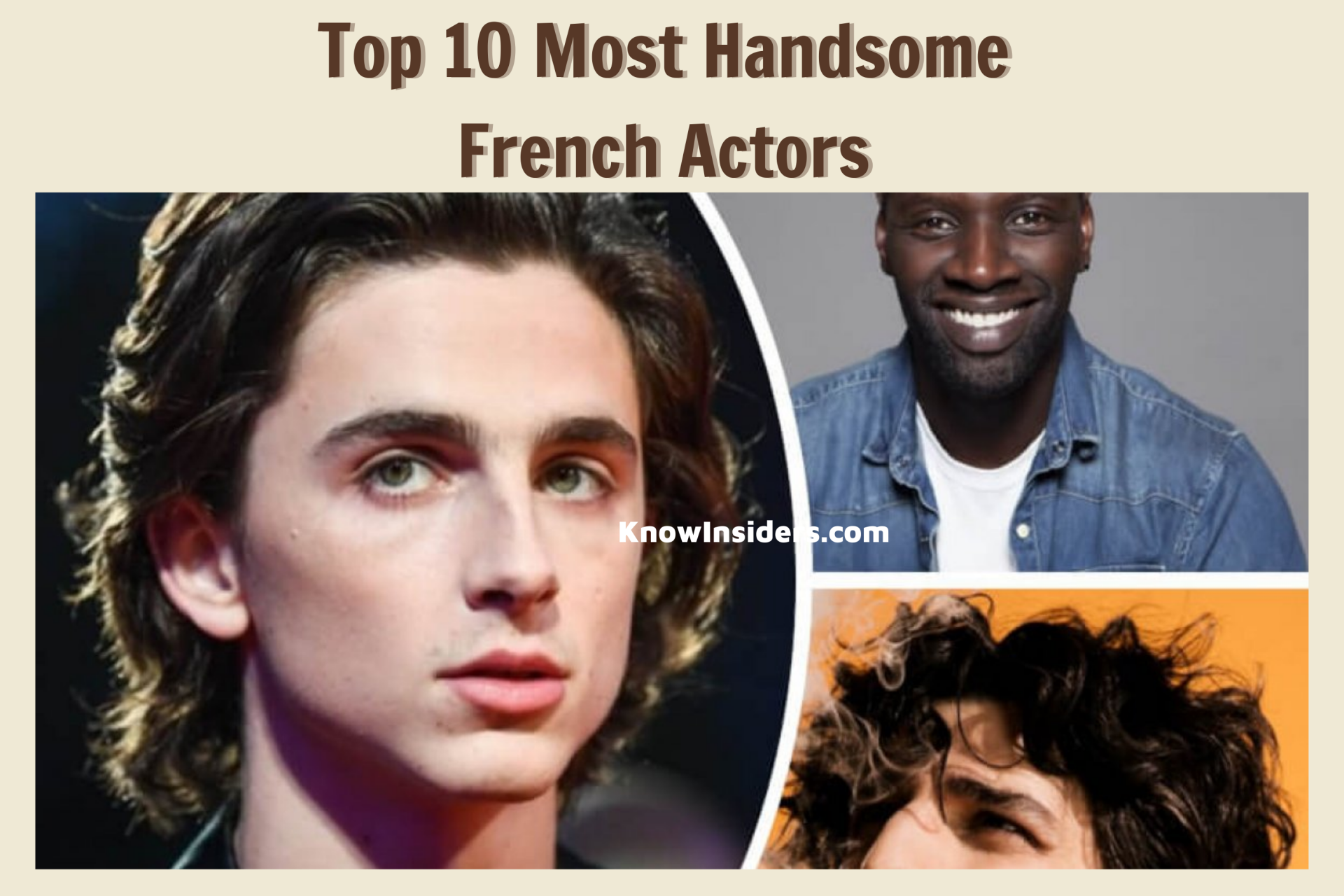 Top 10 Most Handsome French Actors - Updated