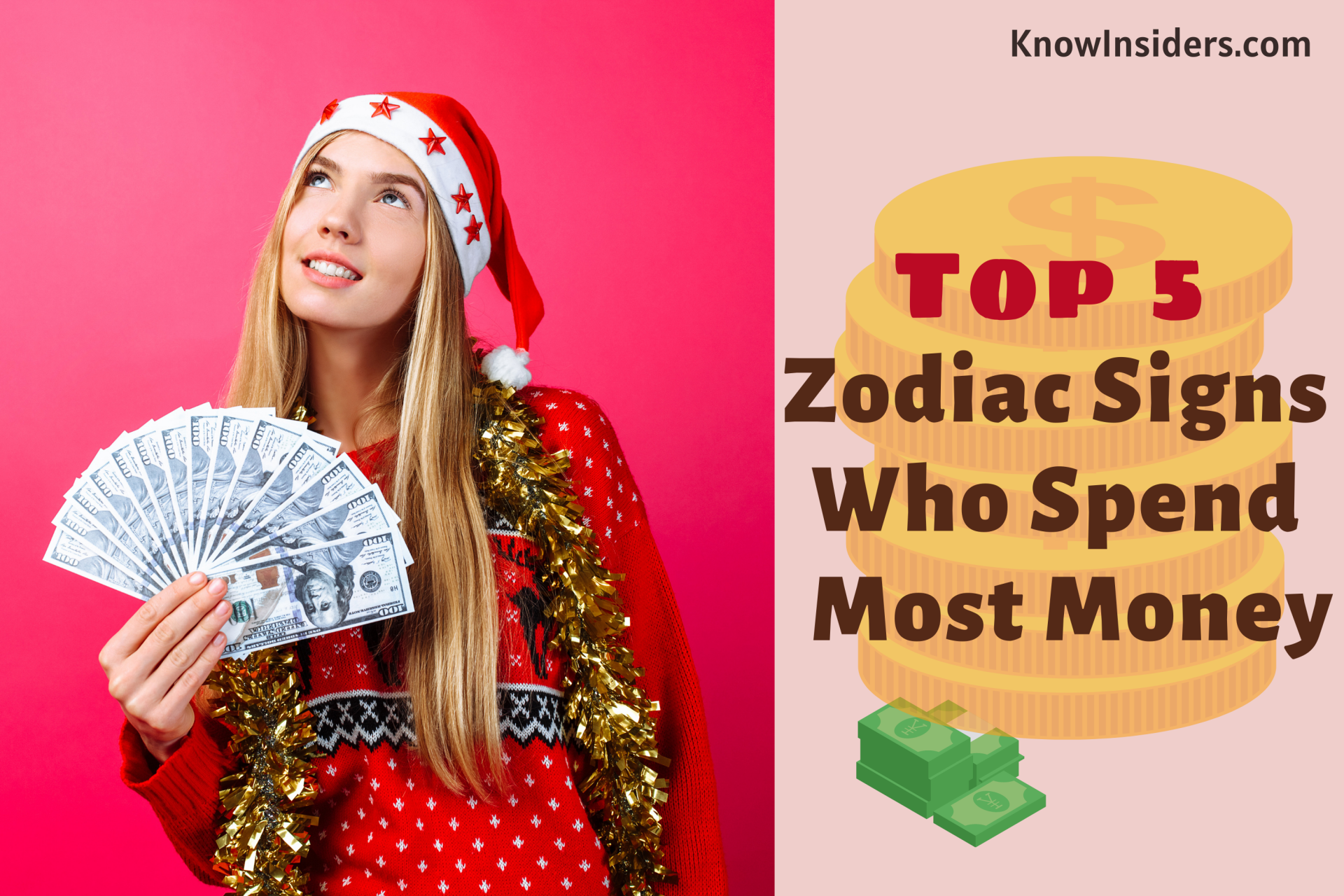 Top 5 Zodiac Signs That Spend the Most Money According to Astrology