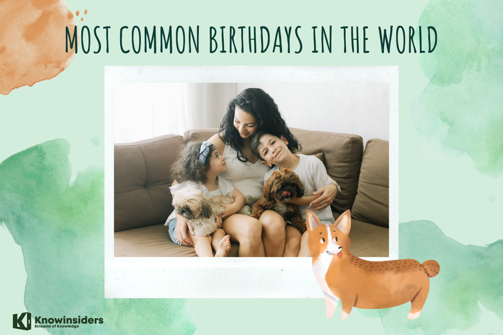 10 Most Common Birthdays In The World