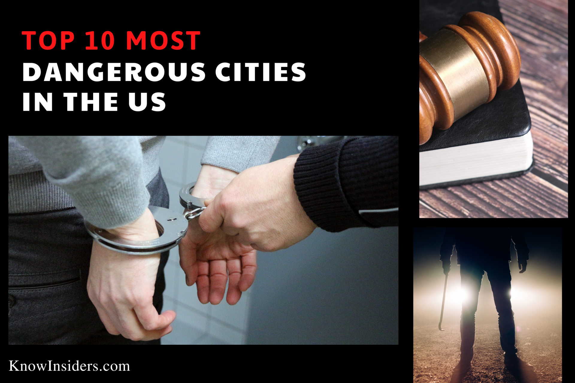 Top 10 Most Dangerous Cities In The United States