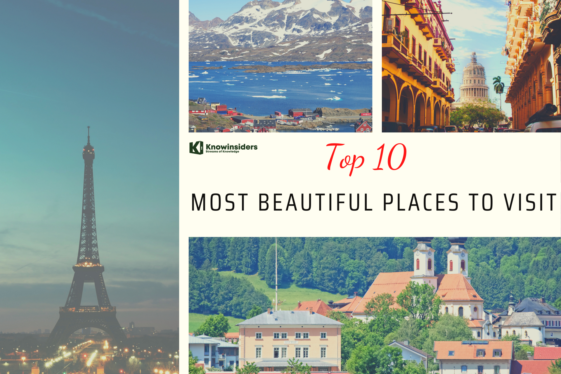 Top 10 Most Beautiful Places to Visit Around the World