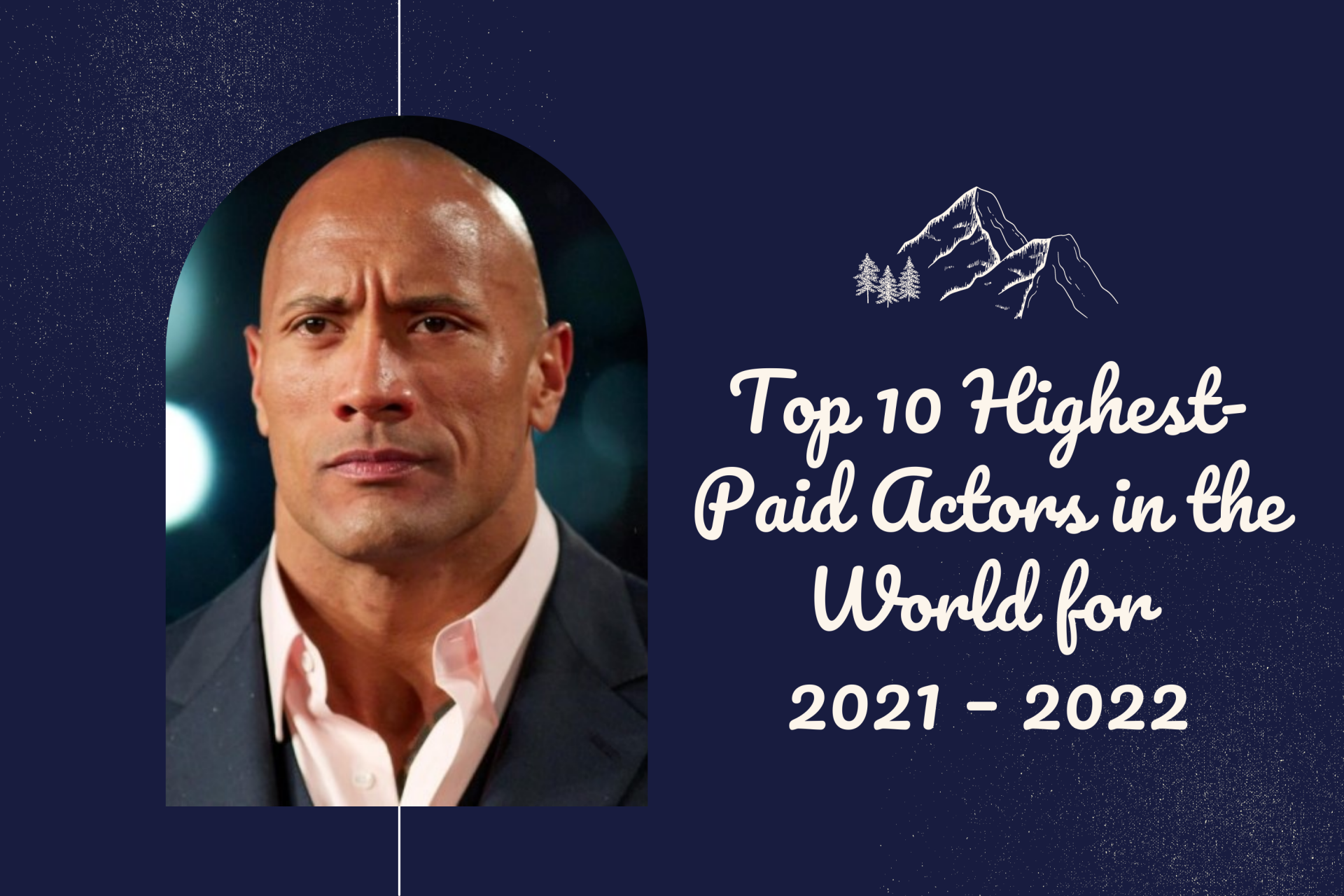 Top 10 Highest Paid Actors in the World for 2021/2022