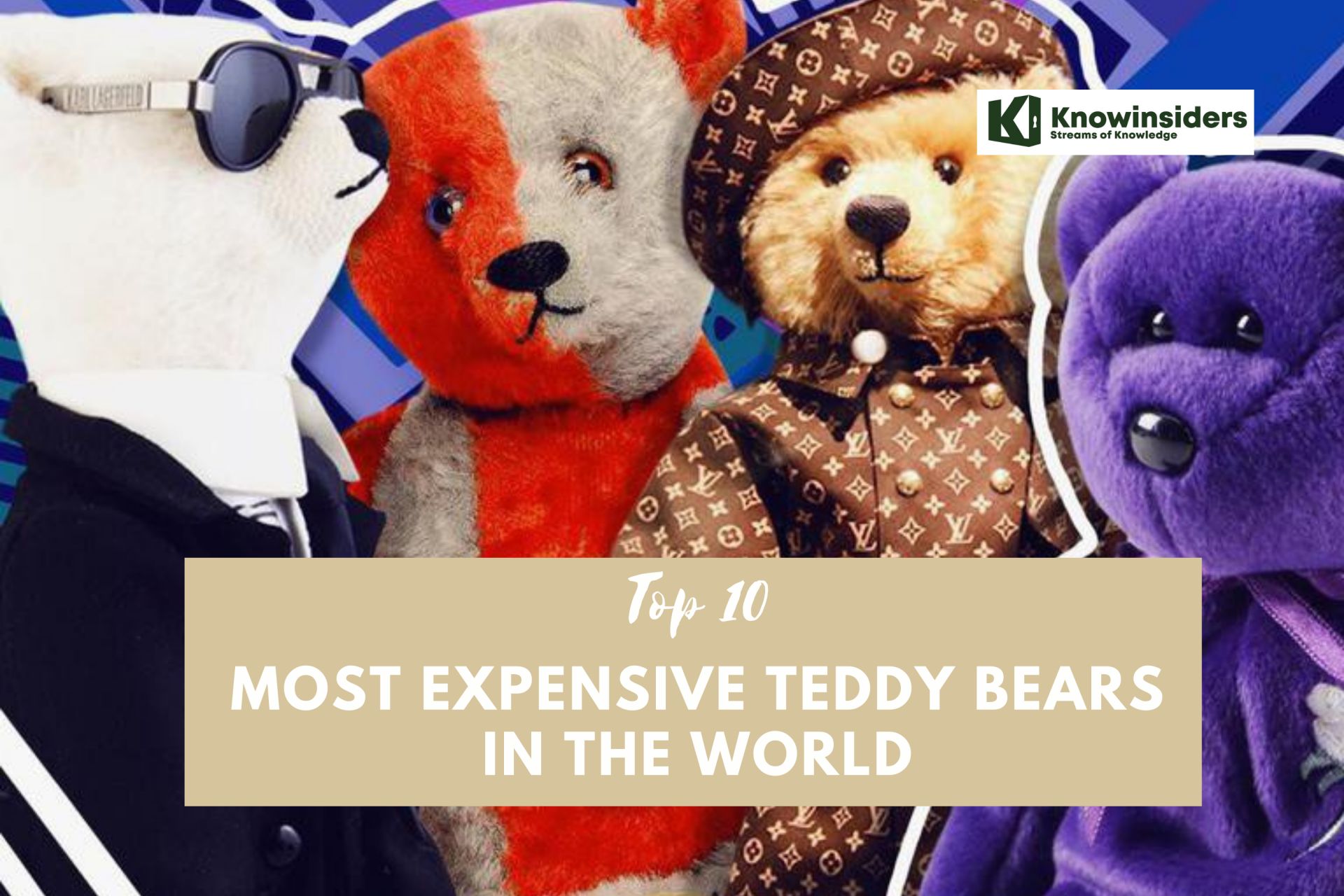 Top 10 Most Expensive Teddy Bears in the World