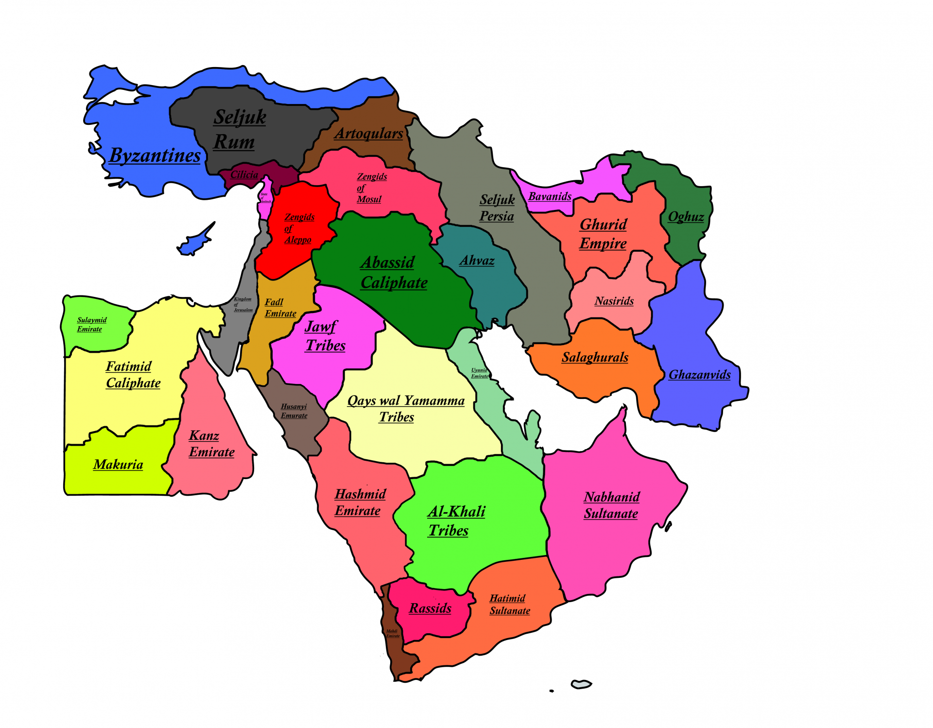 How Many Countries Are There In The Middle East Today: List, Population, Facts and Figure?