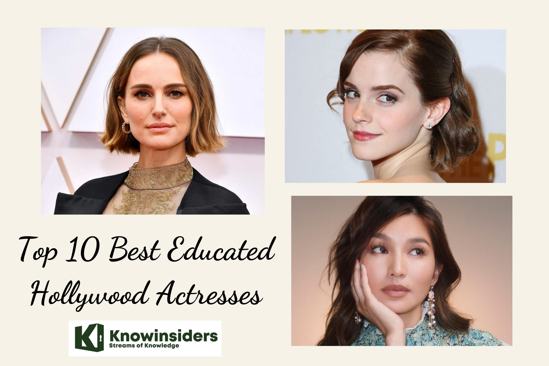 Top 10 Best Educated Hollywood Actresses