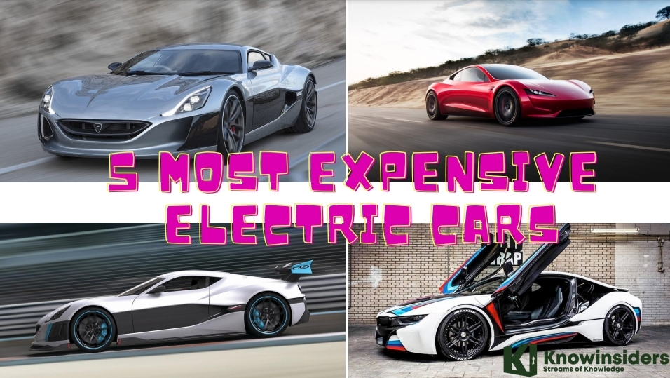 Top 5 Electric Cars - Most Expensive of All Time