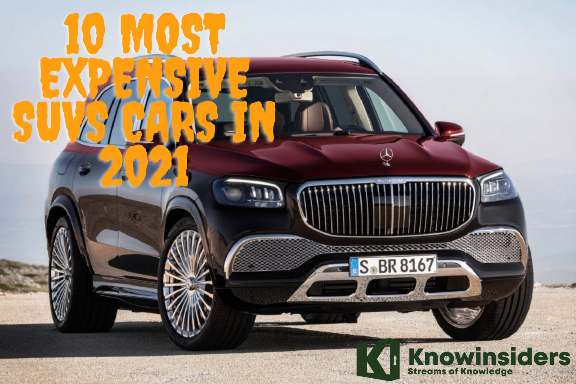 TOP 10 Most Expensive SUVs Cars Today