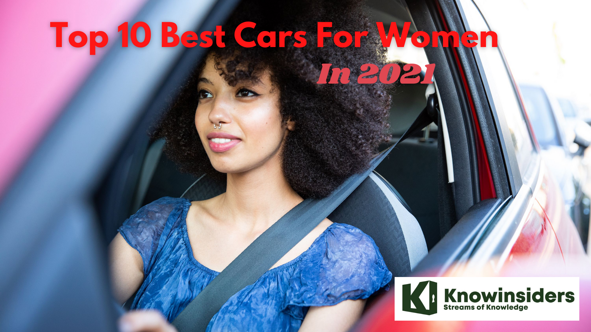Top 10 Best Cars For Women in 2021/2022