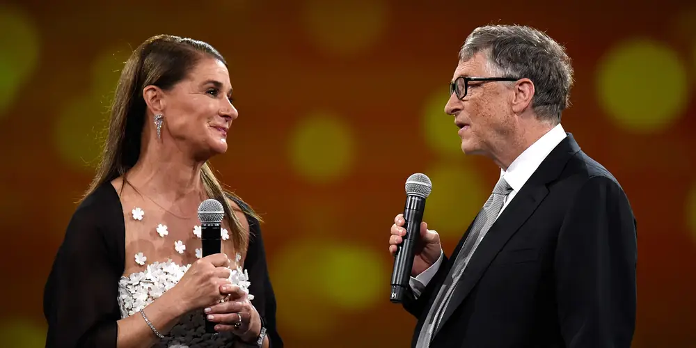 Melinda French Gates and Bill Gates. Kevin Mazur/Getty Images