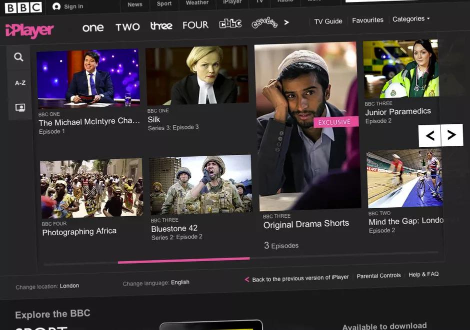 How to watch BBC iPlayer in Cambodia. Photo: Screenshot