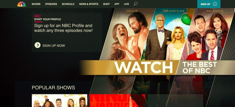 Watch NBC in South Africa For FREE, Online and Live Stream