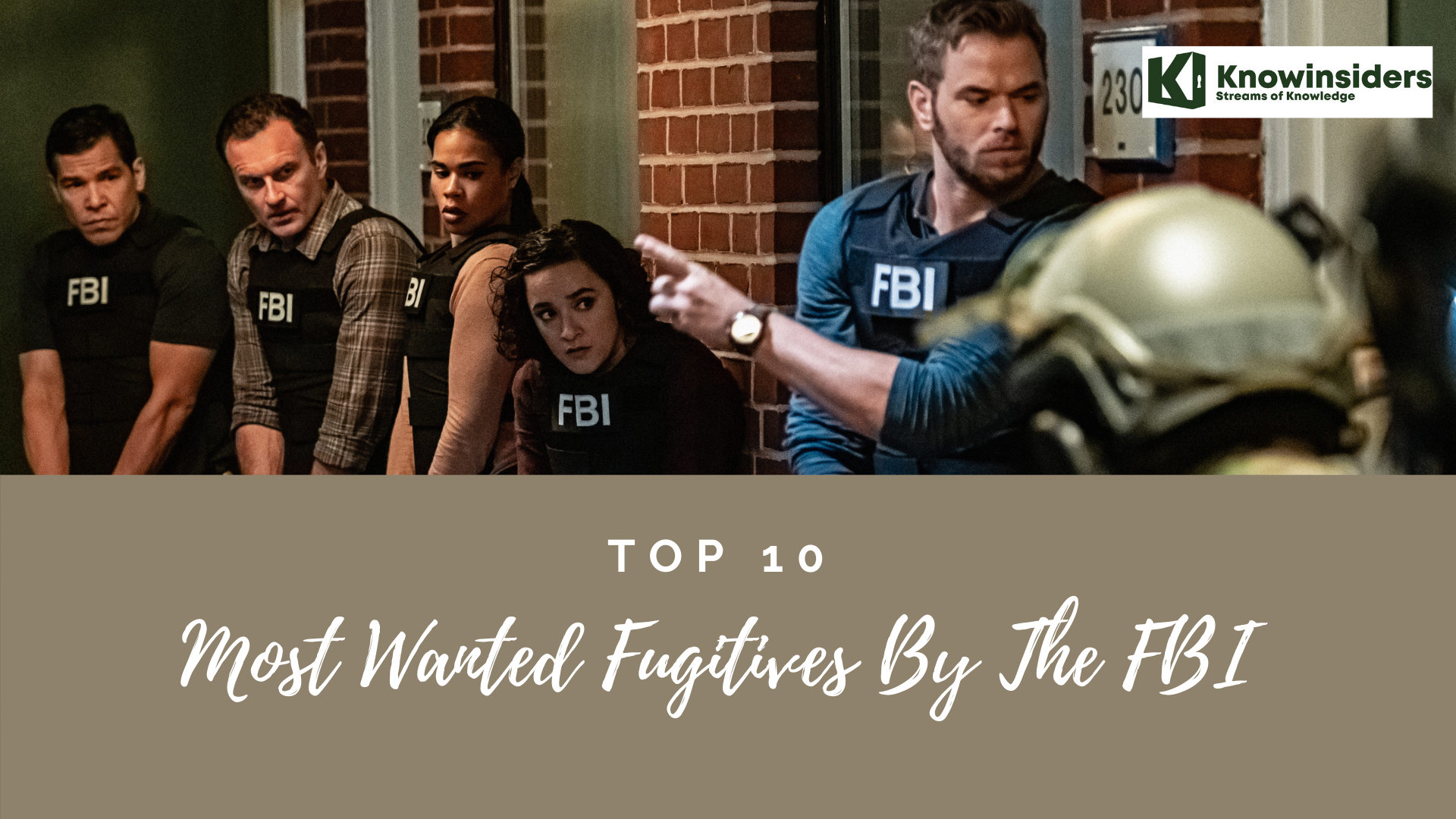 Top 10 Most Wanted Fugitives By FBI In The US