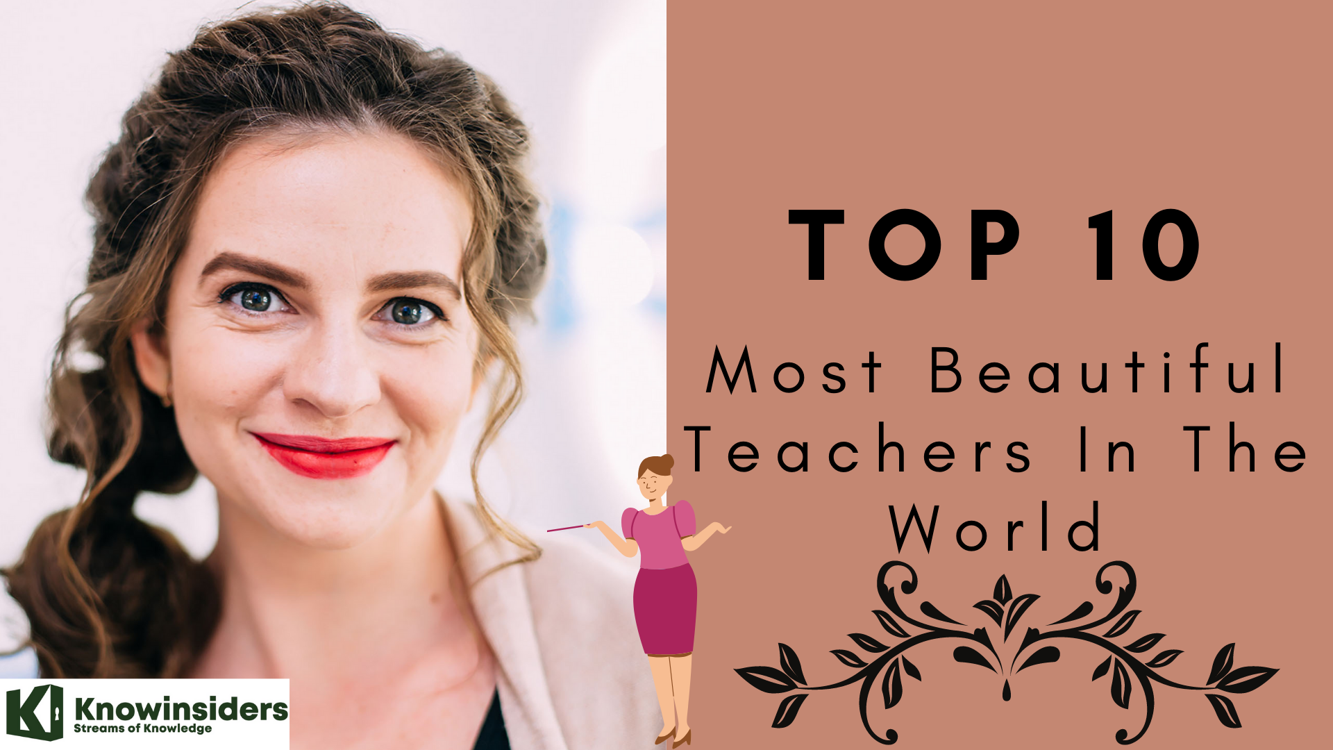 top 10 most beautiful teachers in the world