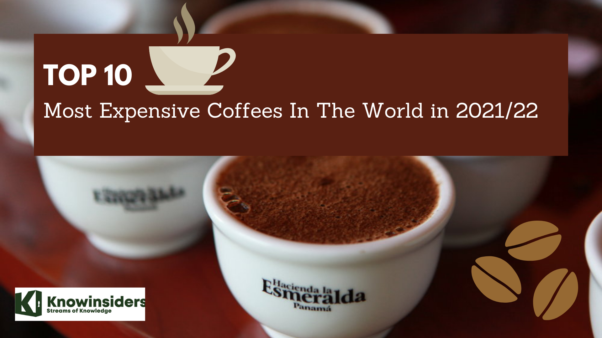 Top 10 Most Expensive Coffee In The World for 2021/2022