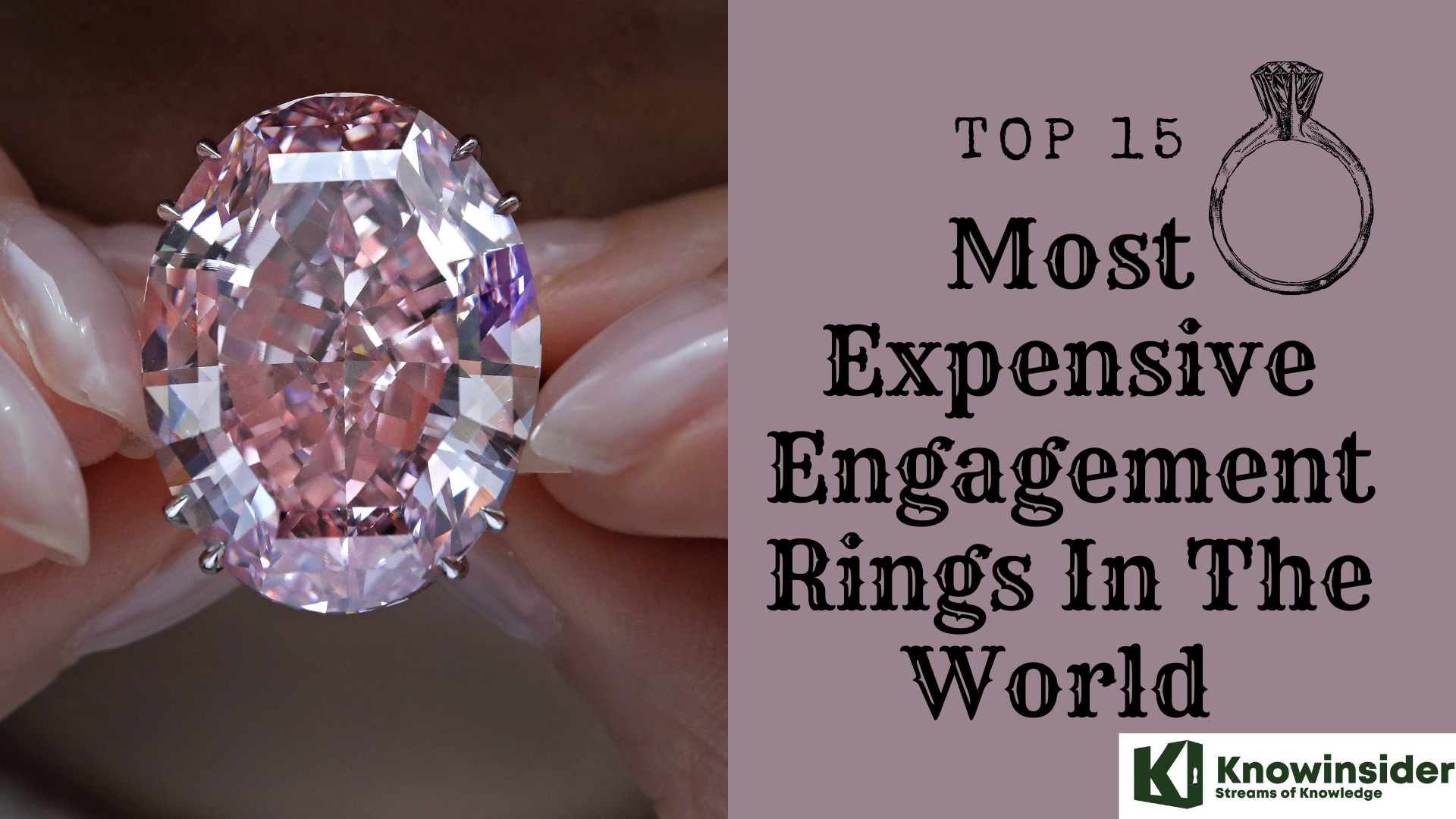 Top 15 Most Expensive Engagement Rings In The World