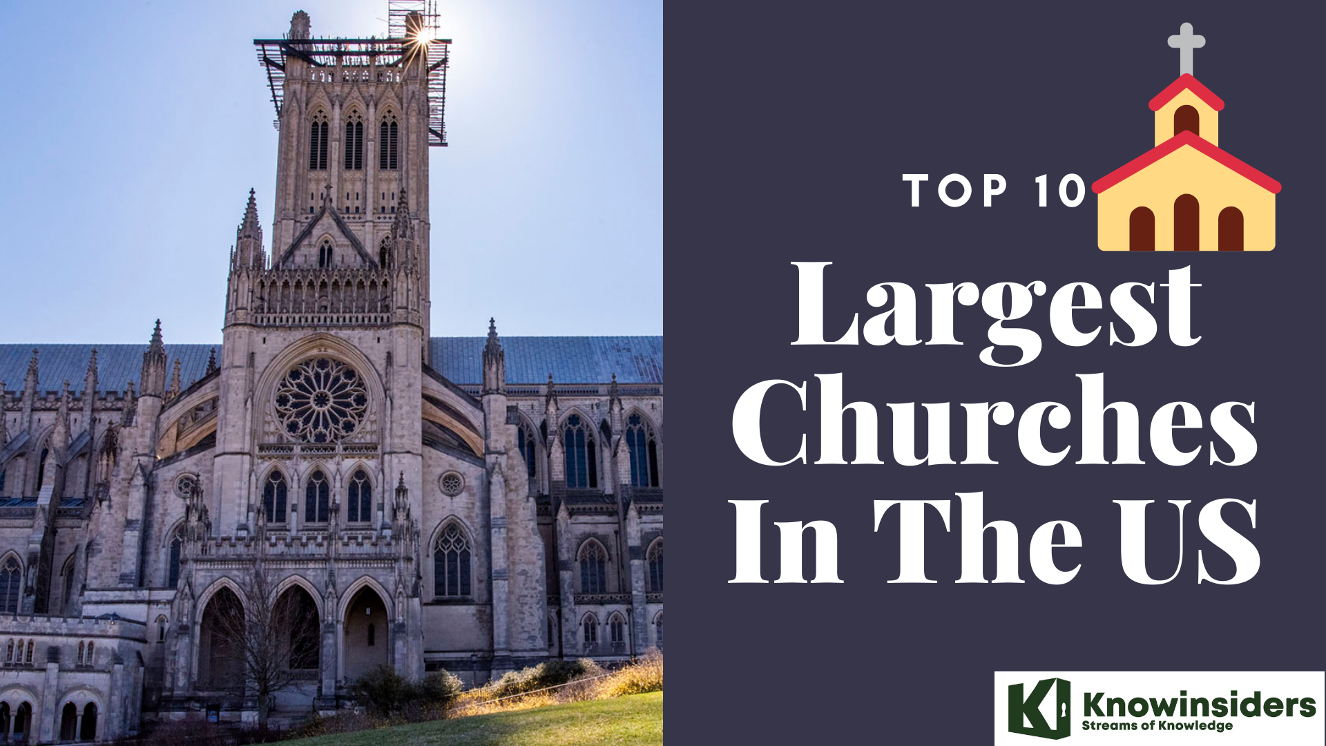 top 10 largest churches in the US