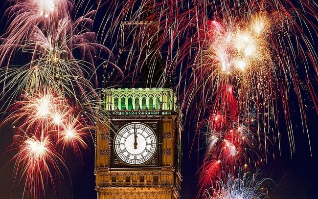 What are New Year Traditions in the UK