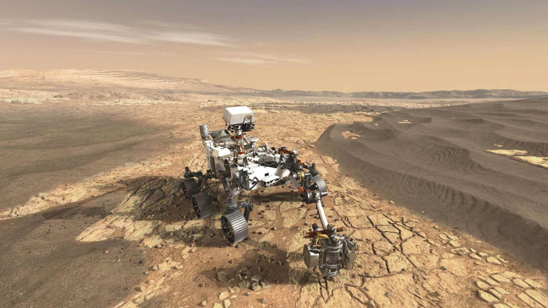 Where and How to Watch Mars Landing - Live on - Today