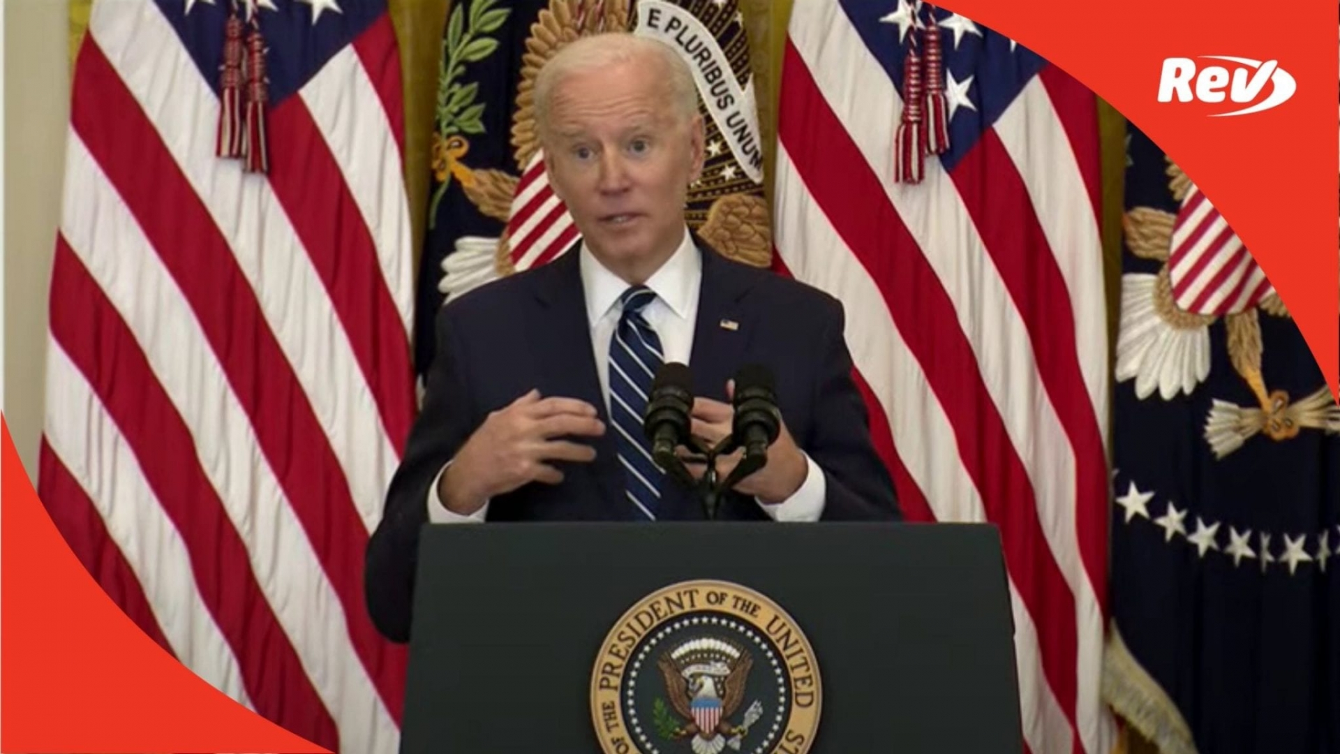 Transcript of Biden First Press Conference March 25