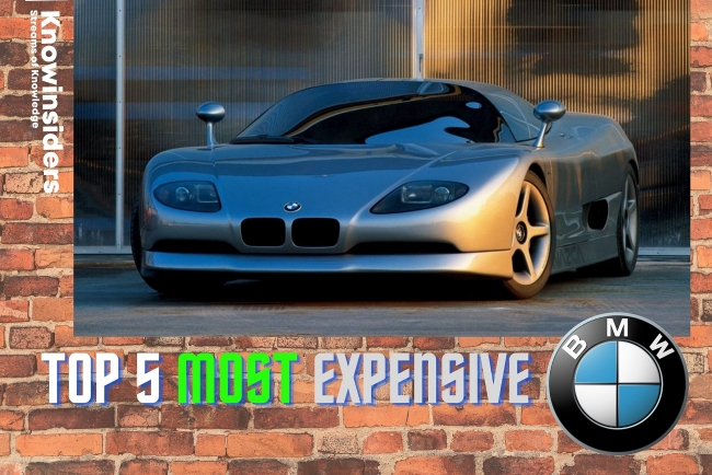 Top 5 BMW - Most Expensive Cars of All Time