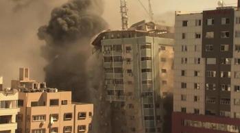 Israel - Gaza Conflict Latest News: Strike destroys building with AP, Al-Jazeera, other media