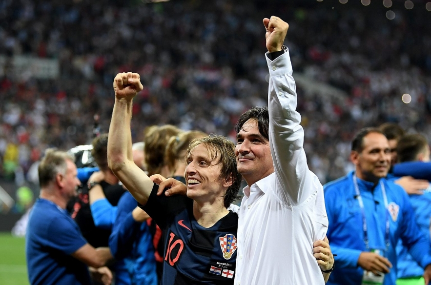 A former player Zlatko Dalic has been in charge of the Croatian National team since 2017.