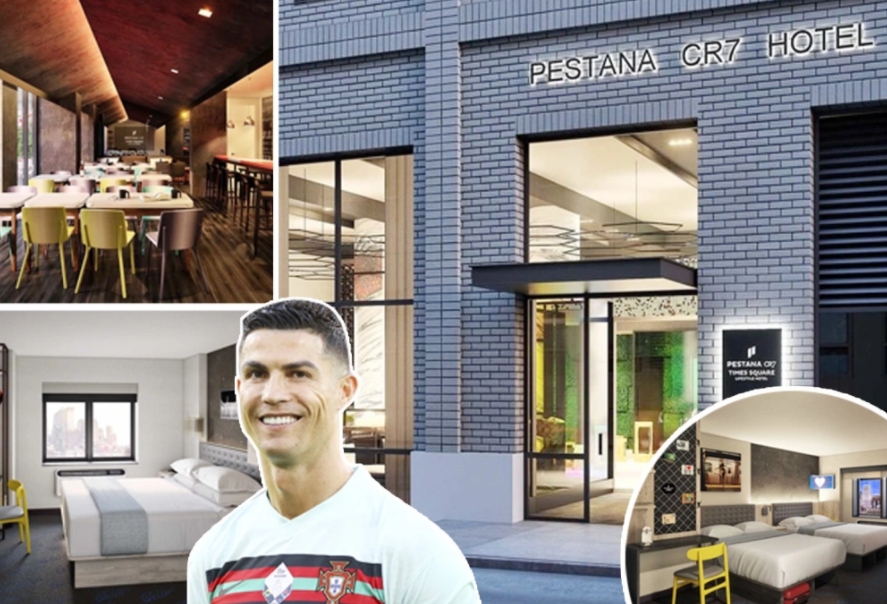 Facts about Cristiano Ronaldo's Pestana CR7 Hotel in New York